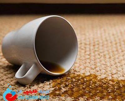نحوه از بین بردن لک چای از فرش