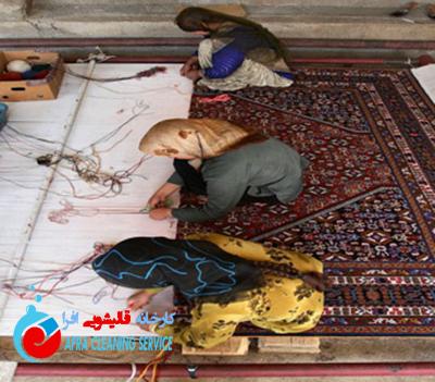 دارکشی فرش دستباف