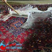 زمان شستشوی فرش