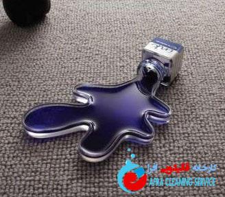 از بین بردن لکه جوهر از روی فرش