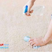 از بین بردن بوی نامطبوع فرش