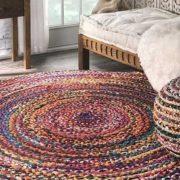 فرش گرد یا دایره ای